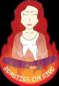 Beauties on Fire Logo
