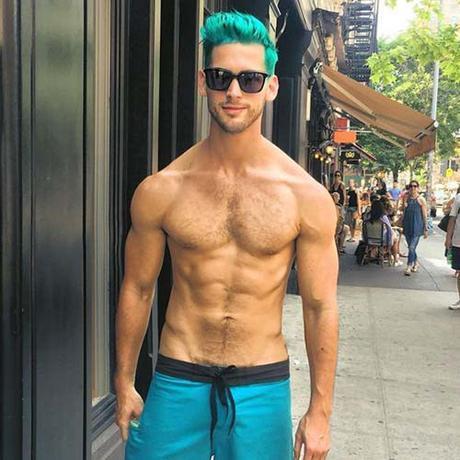 Men's Style Trend: Unconventional Hair Colors