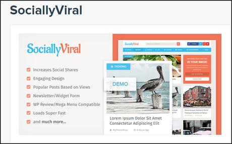 SociallyViral Theme 70% OFF Coupon Code, Discount Code