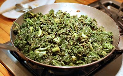 Sautéed Greens (Verdi Saltati) for Luck
