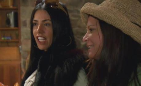 Mob Wives: Warden, Put The Poconos On Full Cabin Fever Lockdown. Staten Island Takes Over The Backwoods… It's All Head Butts & One Squirrel Nut.