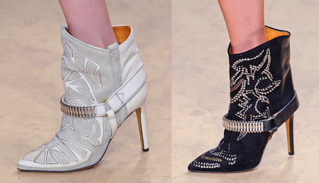 Isabel Marant Fall 2011 shoes