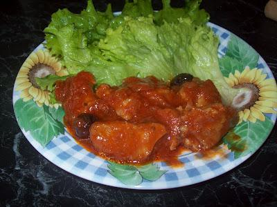 Veal Meat in Chocolate Tomato Sauce-Valentine Day Recipe