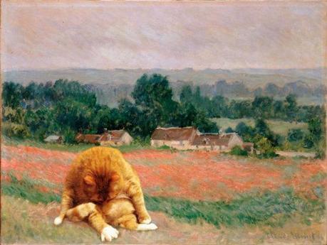 Haystack at Giverny according to FatCatArt.ru