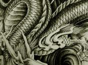 Awesome Weird Oriental Dragon Tattoo Designs