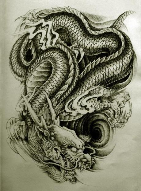 Oriental Dragon Tattoo Style 1 Awesome But Weird Oriental Dragon ...