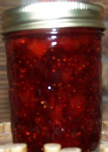 Strawberry, Vinegar, Black Pepper Jam