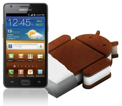 How To Install Official Android 4.0.3 ICS Update On Galaxy S II