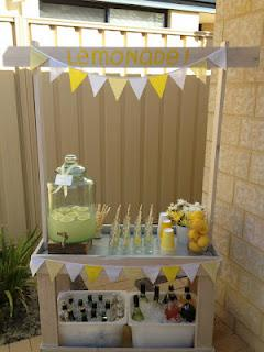 Mr Happy - gorgeous sunny yellow party feature for Cooper's 1st birthday