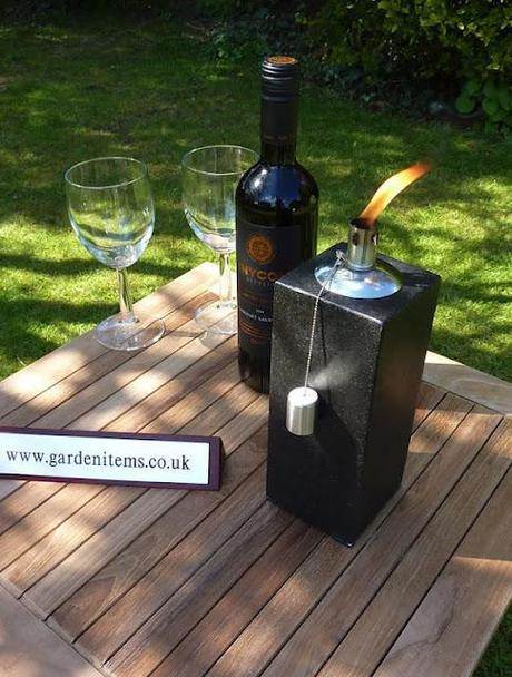 Ryan's Garden Competition: Win two granite garden torches