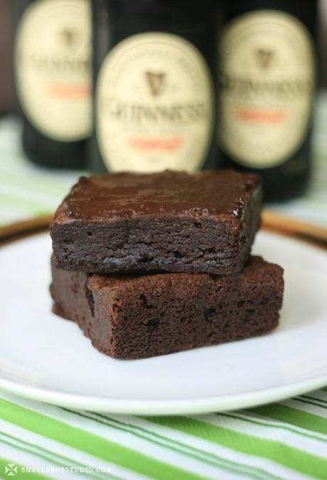 RECIPE // Guinness Brownies
