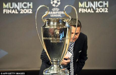 Eyes on the prize: The Champions League final will be held in Munich
