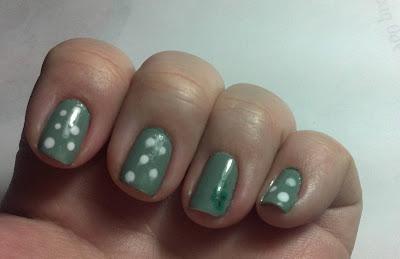 Nail Art: St. Patrick's Day Mani