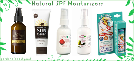 15 Natural Sunscreens and SPF Moisturizers that Save Your Skin and the Planet