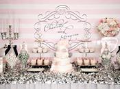 Work: Little Company's Wedding Table, Silver, Pink Navy