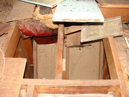 attic bypass over stairway