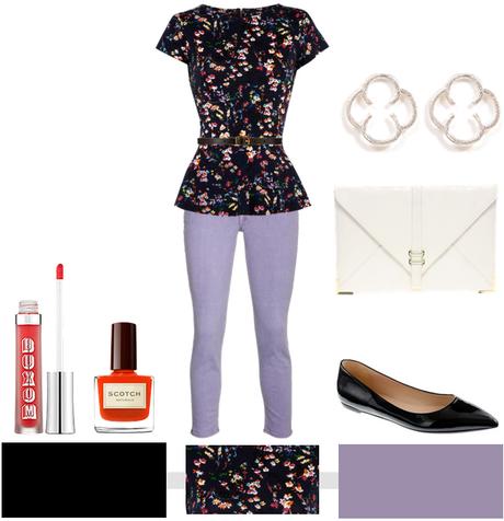 Peplum + Floral…