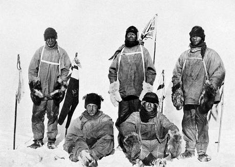 Antarctic History: Scott Snowbound in a Tent