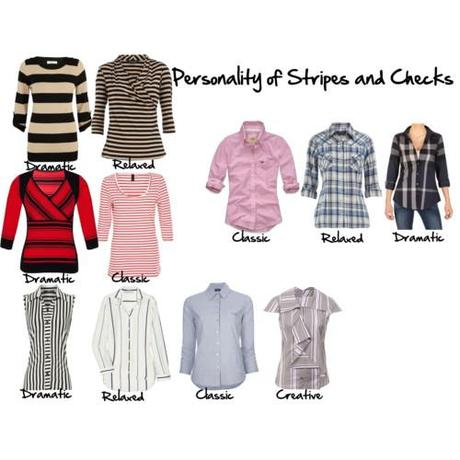 Personality of Stripes and checks