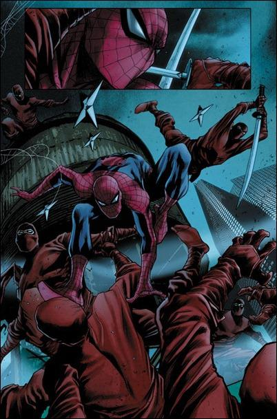Avenging Spider-Man #6 preview page 1