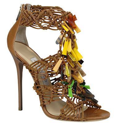 Shoe of the Day | Jimmy Choo IRIS Sandal Inspired by Iris Apfel