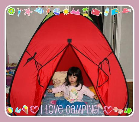 Wordless Wednesday - It's camping day!