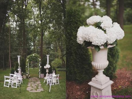 Private Michigan Wedding Still Caught My Eyes