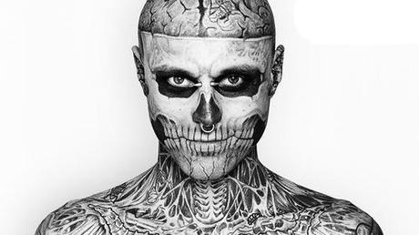 Getting Heavily Tattooed Rico Genest Zombie Boy Getting Heavily Tattooed