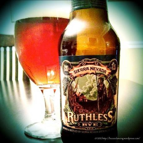 Beer Review – Sierra Nevada Ruthless Rye IPA
