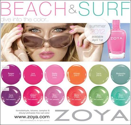 Upcoming Collections:Nail Polish Collections:Nail Polish: Zoya : Zoya Beach & Surf Collections