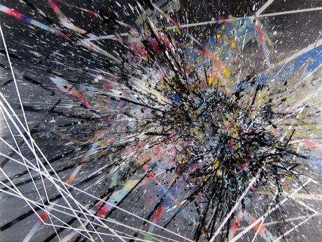 abstract art, modern art, contemporary art, modern abstract art, explosions