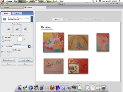 Part III: Editing Files of Your Child's Artwork