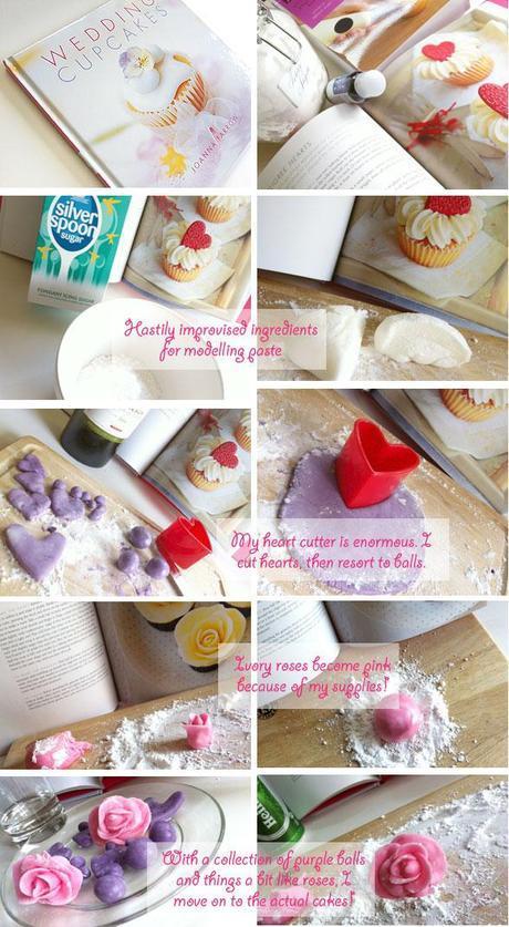 English wedding blog project diy cake icing