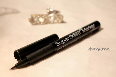 NYX Super Skinny Marker Review and Comparison with Maybelline Line Stiletto