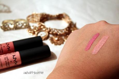 NYX Soft Matte Lip Cream Review: Milan & Tokyo