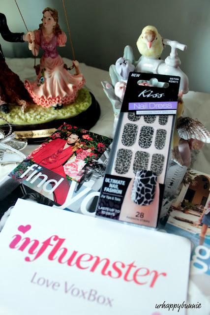 Influenster LoveVoxBox: Kiss Nail Dress Review