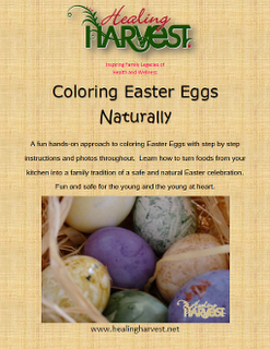 Coloring Easter Eggs Naturally Ebook Review!