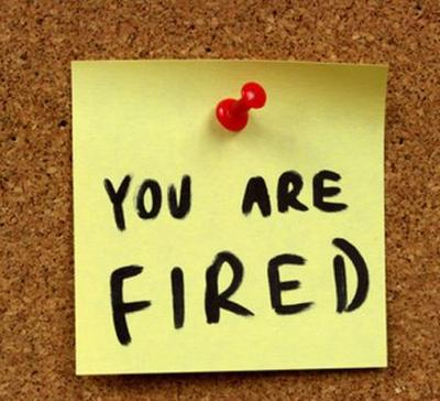 You Are Fired Job Stopper Tattoos