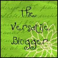 The Versatile Blogger Award!