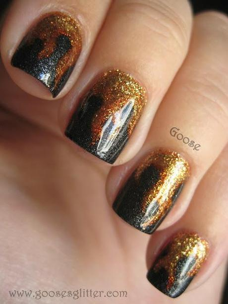 Katniss, Girl on Fire: Hunger Games Midnight Release Mani