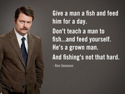 Everything I Know About Fatherhood I Learned From Ron Swanson