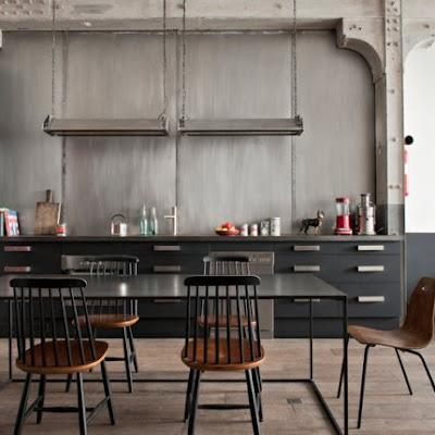 Parisian industrial chic paperblog - Decoration industrielle vintage ...