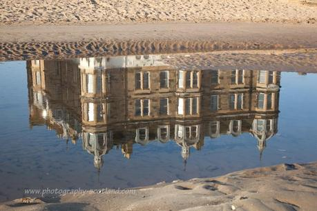 Photo - reflections of the Espy on Portobello's promenade
