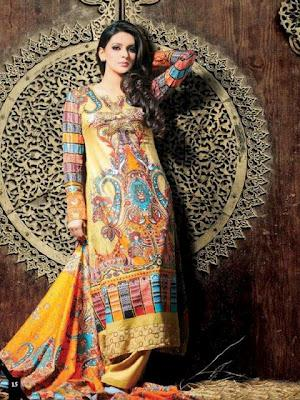 Dawood Classic Lawn Collection 2012 By Dawood Textiles