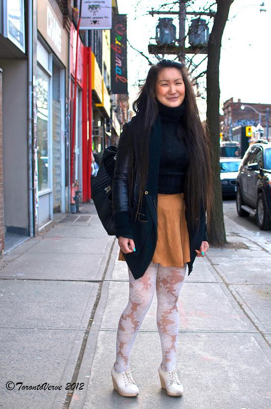 Kelly: Styling on Queen Street West