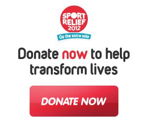 Sport Relief 2012 Help Make a Difference