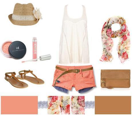 Peach + Floral…