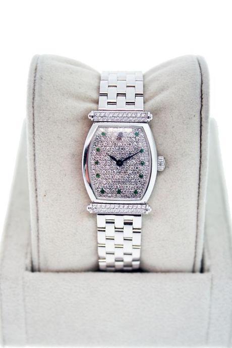 Audemars Piguet 18KWG Carnegie Pave Diamond Watch, Audemars, Audemars Piguet, Carnegie, Raymond lee jewelers, boca Raton