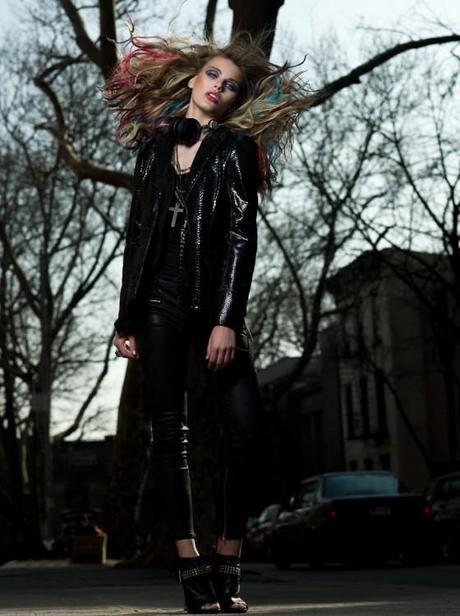 Fashion Photographer Scott Hugh Mitchell Captures Madison Headrick from Marilyn Models in New York