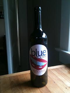 Wine Label: Blue Tooth Technology